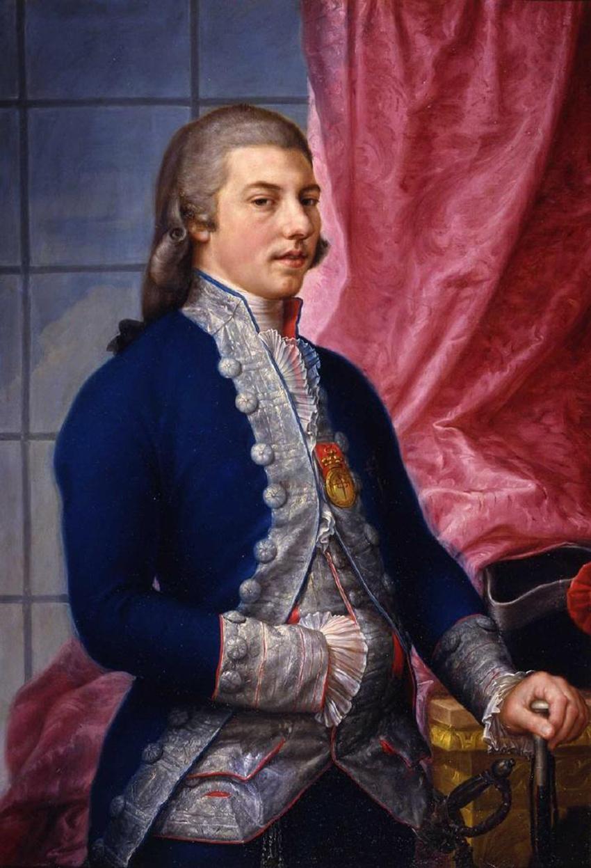 Manuel de Godoy por Antonio Carnicero