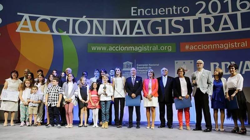 Premio Acción Magistral 2016 para el IES Valle del Tiétar - TiétarTeVe