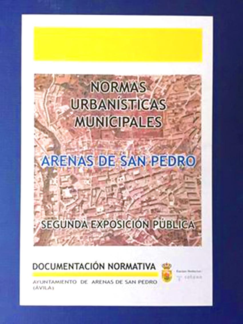 Normas Urbanísticas del Ayuntamiento de Arenas de San Pedro - TiétarTeVe
