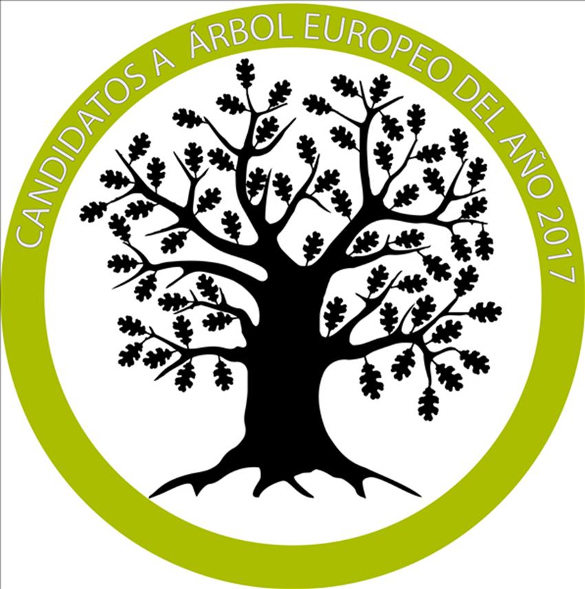 Logotipo de Bosques sin Fronteras - Árbol Europeo del Año 2017 - TiétarTeVe