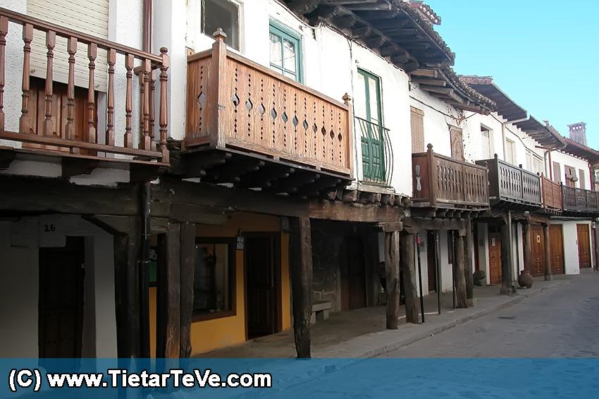 Calle de los Soportales - Cuevas del Valle – TiétarTeVe