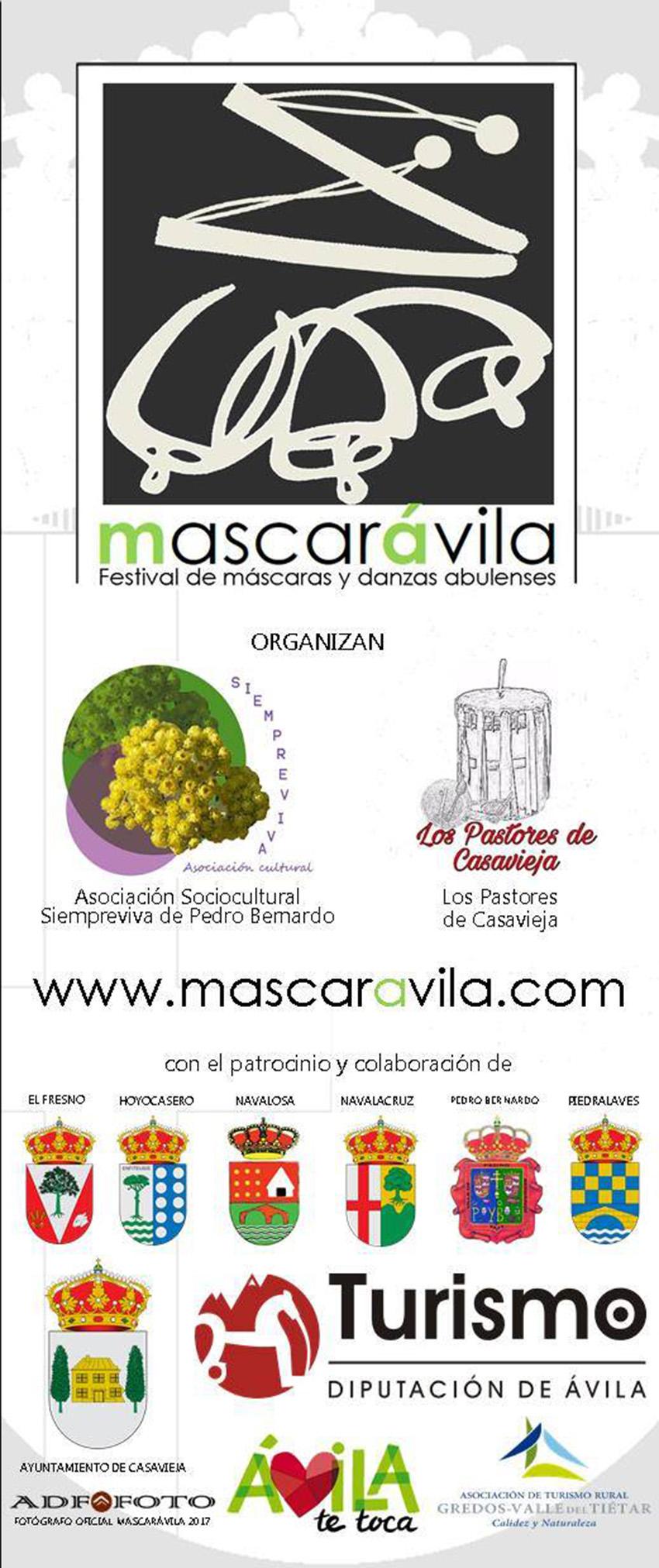 III Mascarávila en Casavieja 2017 – TiétarTeVe