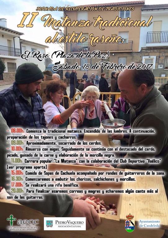 II Matanza tradicional en El Raso de Candeleda - TiétarTeVe