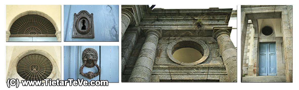 Detalles del Palacio del Infante don Luis de Borbón y Farnesio o Palacio de la Mosquera de Arenas de San Pedro – TiétarTeVe