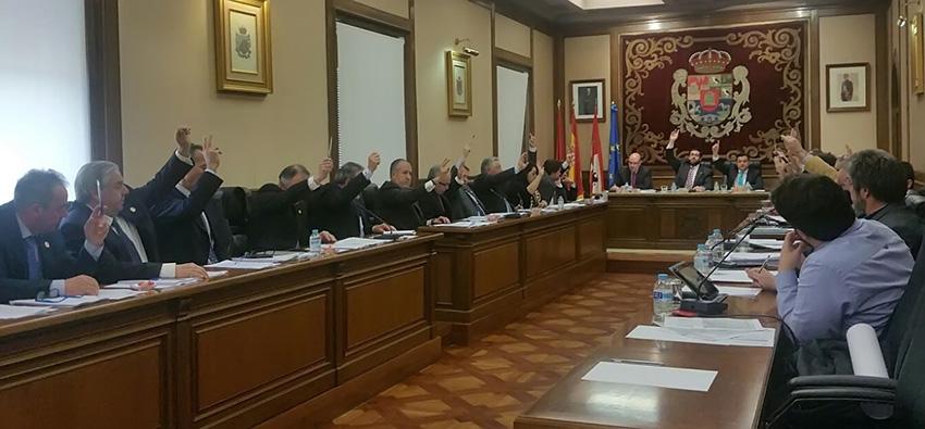 Pleno de la Diputación de Ávila - TiétarTeVe