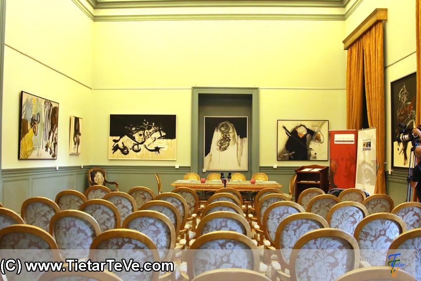 Sala Principal del Palacio del Infante don Luis de Borbón y Farnesio o Palacio de la Mosquera de Arenas de San Pedro - TiétarTeVe