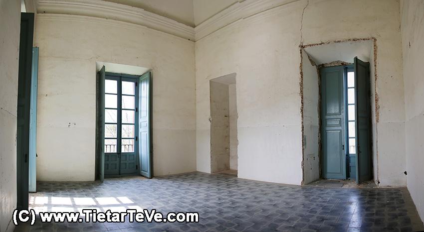 Estancias de la primera planta del Palacio del Infante don Luis de Borbón y Farnesio o Palacio de la Mosquera de Arenas de San Pedro – TiétarTeVe