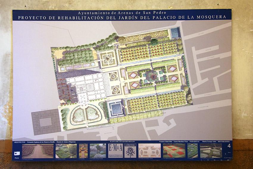 Plan Director del Palacio del Infante don Luis de Borbón y Farnesio o Palacio de la Mosquera de Arenas de San Pedro - TiétarTeVe