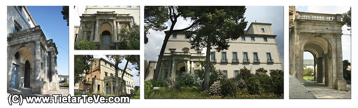 Portada del Palacio del Infante don Luis de Borbón y Farnesio o Palacio de la Mosquera de Arenas de San Pedro – TiétarTeVe
