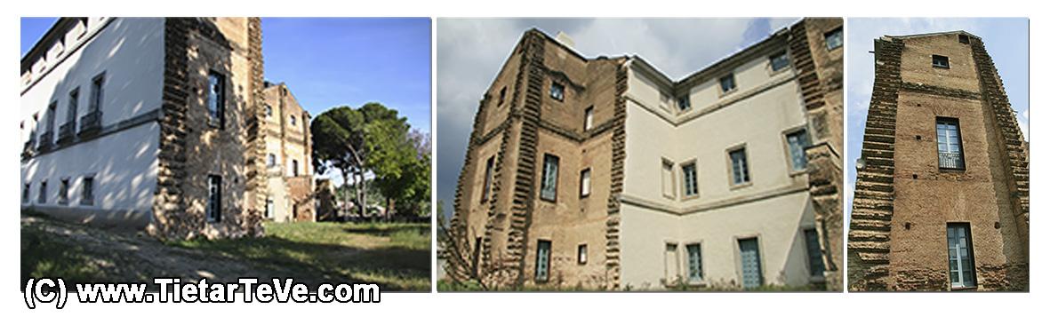 Trasera del Palacio del Infante don Luis de Borbón y Farnesio o Palacio de la Mosquera de Arenas de San Pedro – TiétarTeVe