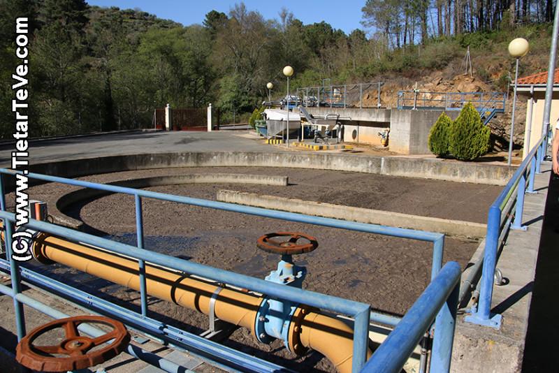 Estación Depuradora de Aguas Residuales (EDAR) de Arenas de San Pedro - TiétarTeVe