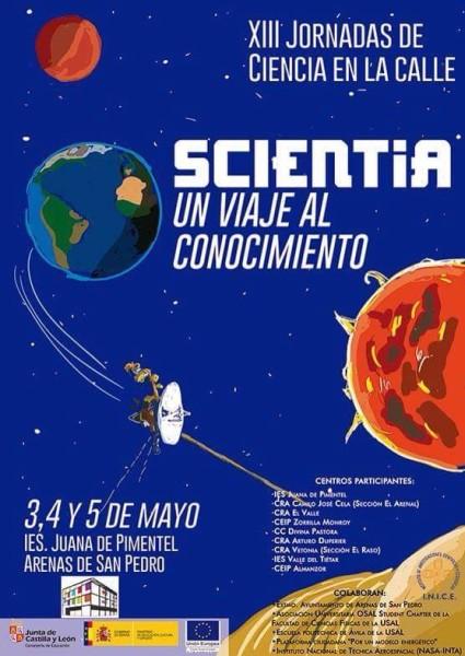 """XIII Jornadas de Ciencia en la Calle """"Scientia"""" del IES Juana de Pimentel de Arenas de San Pedro – TiétarTeVe"""