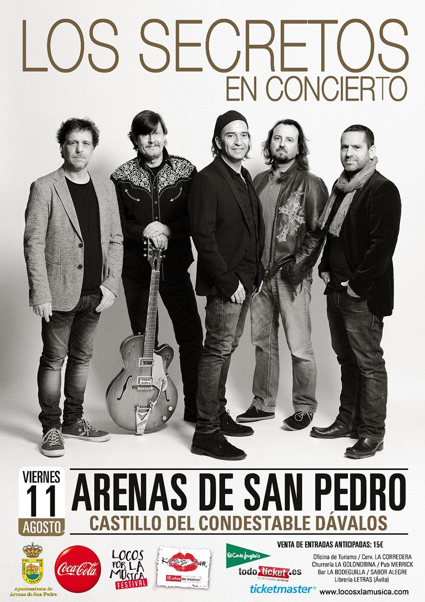 Los Secretos en Arenas de San Pedro – TiétarTeVe