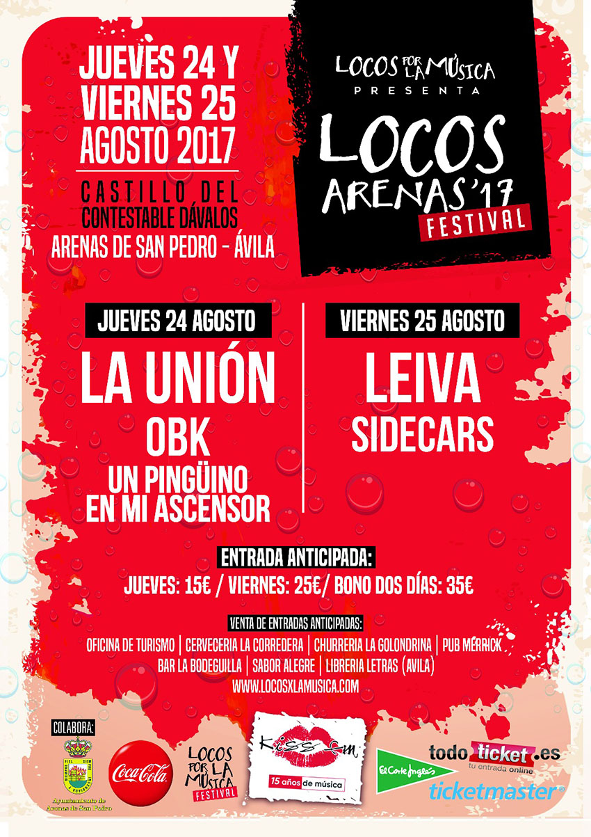 Locos por la Música 2017 de Arenas de San Pedro – TiétarTeVe