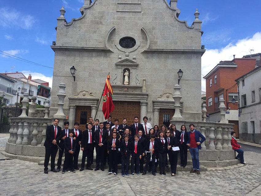 Banda de Arenas de San Pedro en El Tiemblo – TiétarTeVe