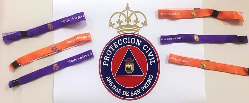 Pulseras campaña Desfibrilador Externo Semiautomático (DESA) para Protección Civil de Arenas de San Pedro – TiétarTeVe