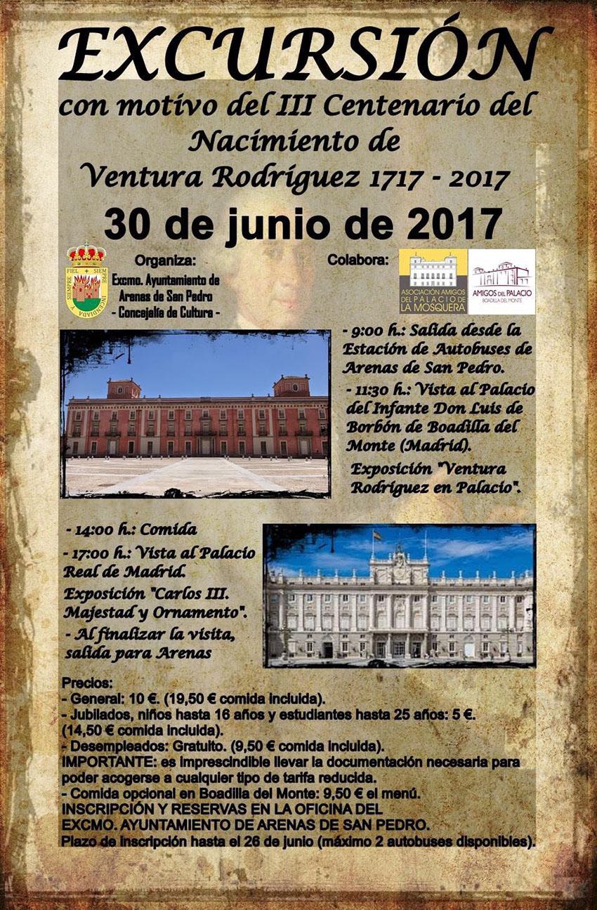 Exposición sobre Ventura Rodríguez y Carlos III - TiétarTeVe