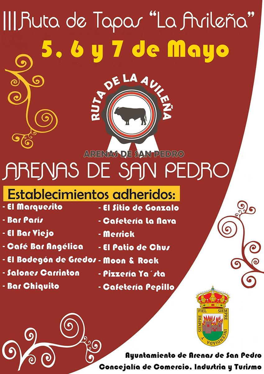 III Ruta de Tapas La Avileña Arenas de San Pedro – TiétarTeVe