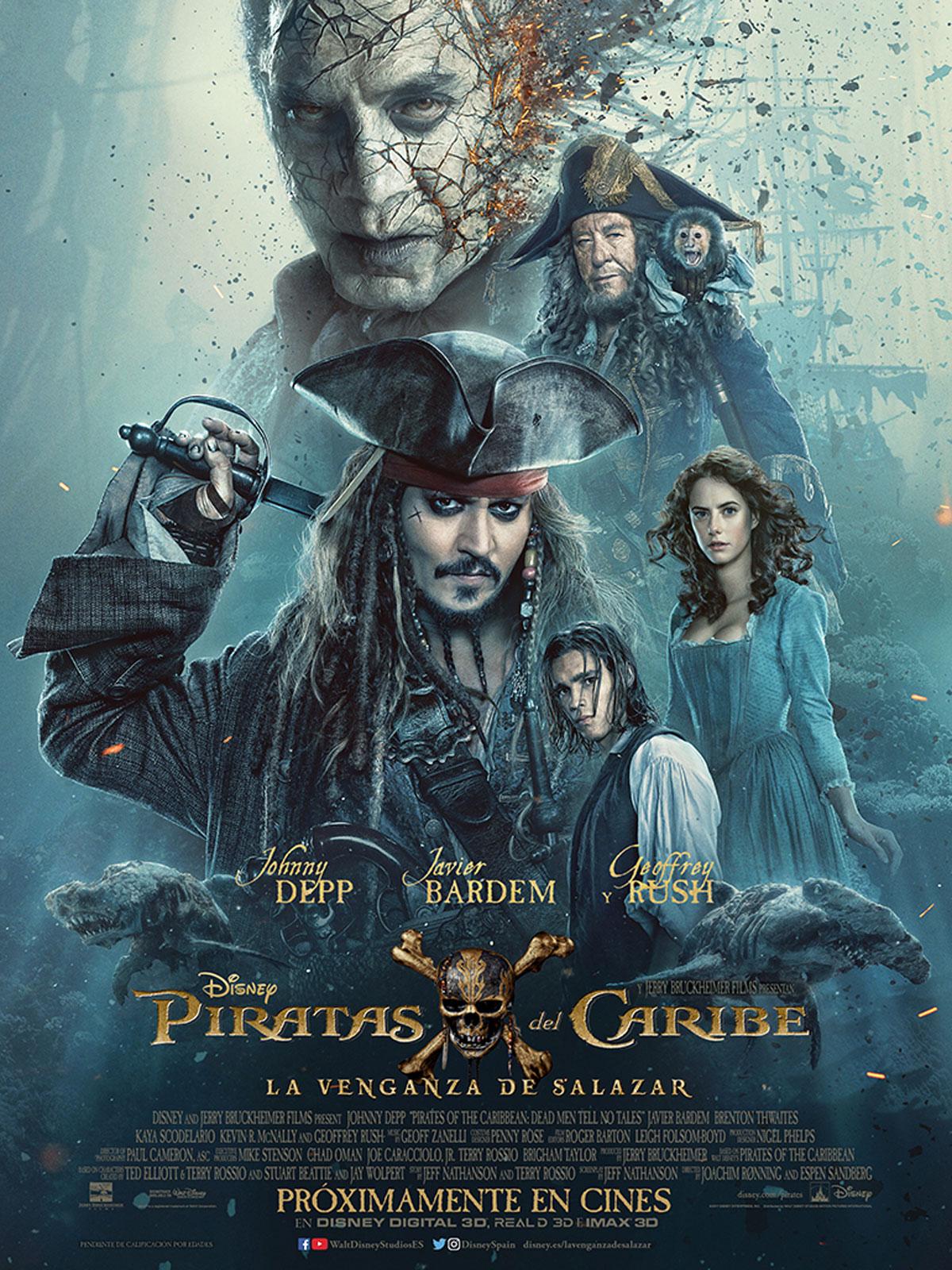 Piratas del Caribe. La Venganza de Salazar en el Cine Navalmoral de Navalmoral de La Mata – TiétarTeVe