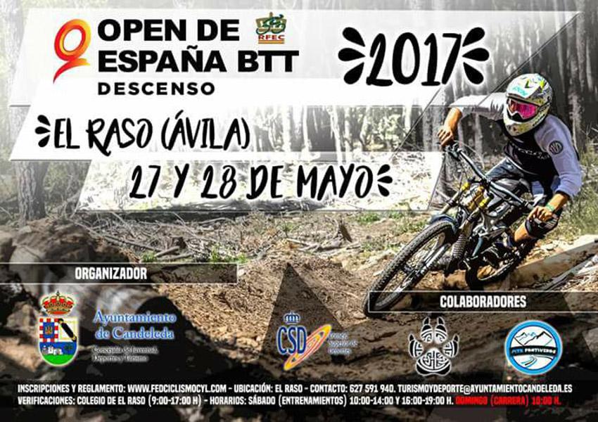 VI Prueba del Open de España BTT Descenso en El Raso de Candeleda - TiétarTeVe
