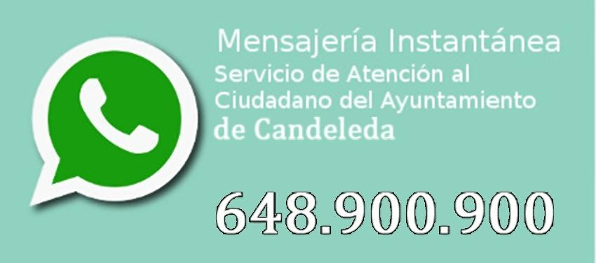 Whatsapp Ayuntamiento de Candeleda – TiétarTeVe