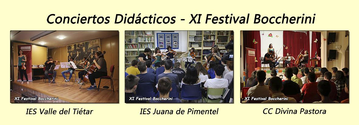 Conciertos Didácticos - XI Festival Boccherini - Arenas de San Pedro - TiétarTeVe