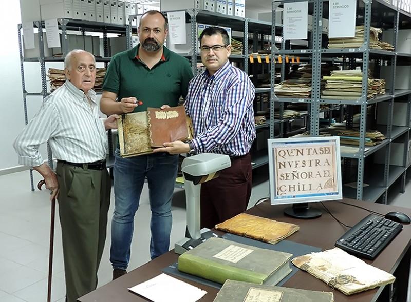 Digitalización Libros Candeleda sobre el Santuario de Chilla - TiétarTeVe