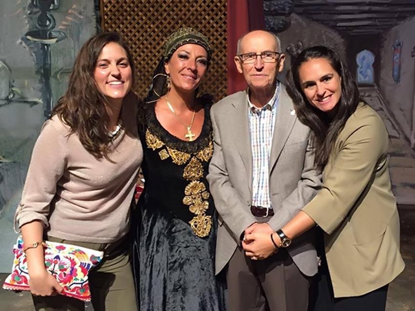 Eduardo Tejero Robledo en el re-estreno de Fantasía para una Condesa el 28 de julio de 2016 - TiétarTeVe