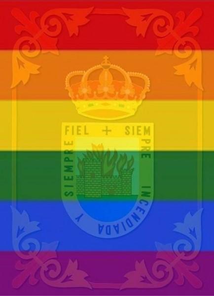 Escudo del Ayuntamiento de Arenas de San Pedro LGTB - TiétarTeVe