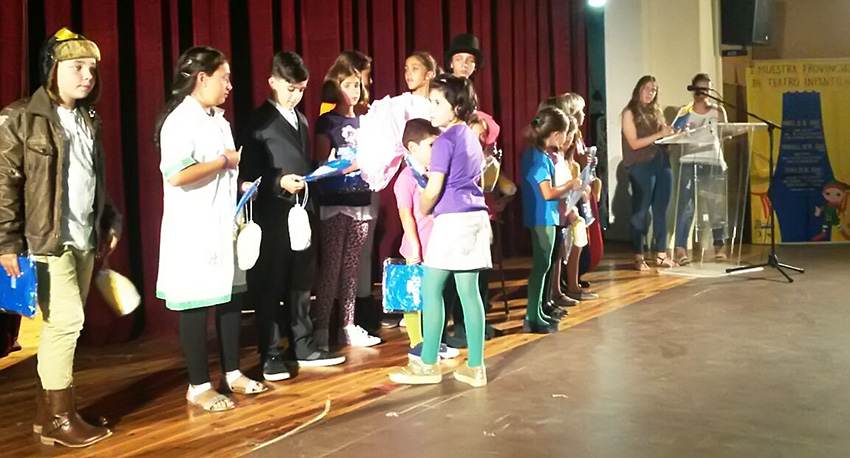 I Muestra de Teatro Infantil de Arevalo - TiétarTeVe
