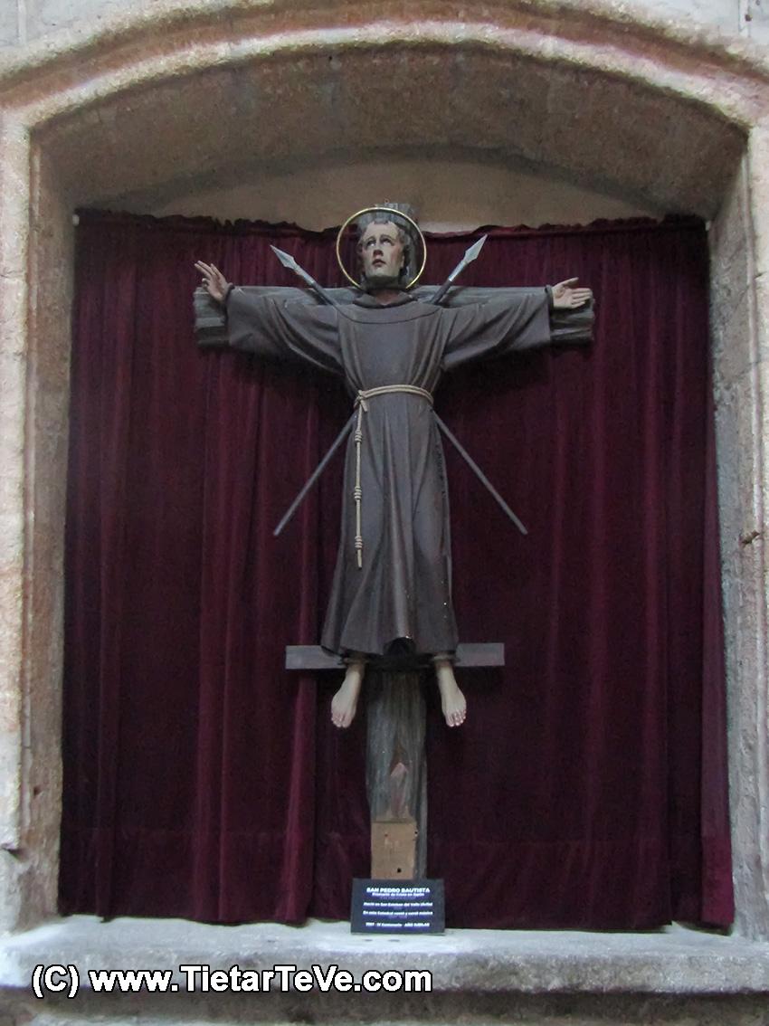 San Pedro Bautista en la Catedral de Ávila - TiétarTeVe