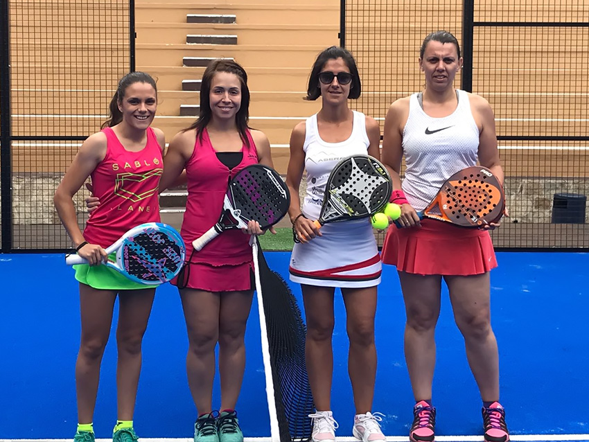 Ganadoras del Trofeo Diputación de Ávila - Categoria Femenina - I Pádel Castle de Arenas de San Pedro - TiétarTeVe
