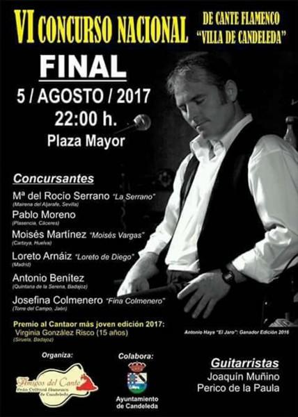 VI Concurso de Cante Flamenco Villa de Candeleda - TiétarTeVe