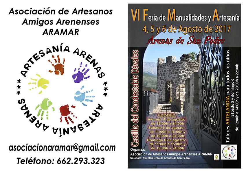 VI Feria de Manualidades y Artesania en Arenas de San Pedro - TiétarTeVe