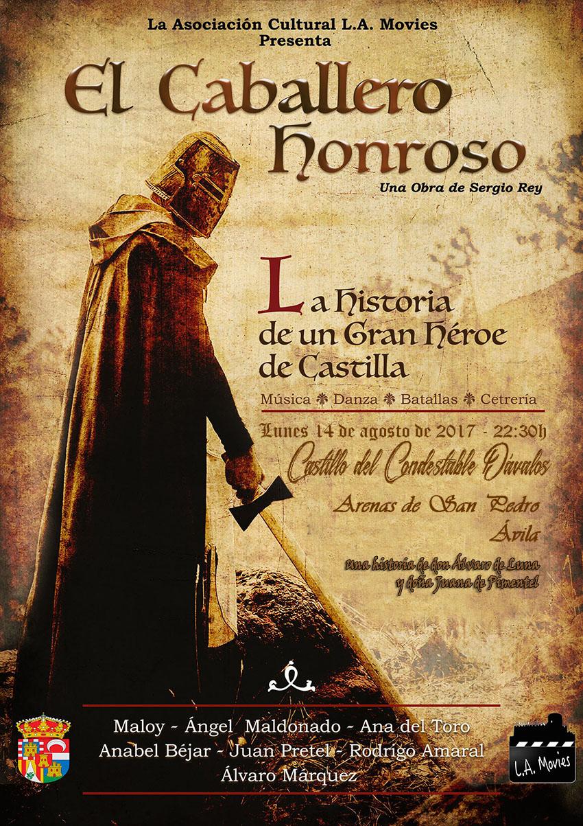 El Caballero Honroso en Arenas de San Pedro - TiétarTeVe