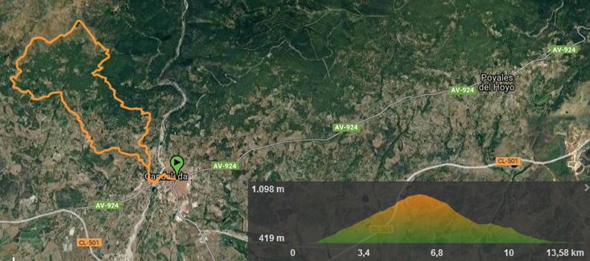El Guerrero de Gredos - Track 14 km - TiétarTeVe