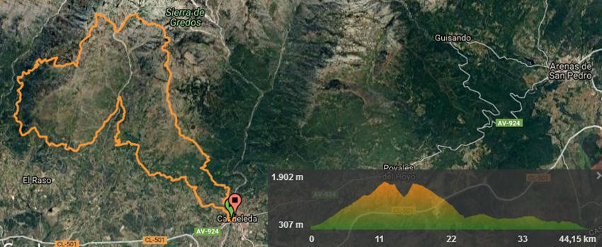 El Guerrero de Gredos - Track Extreme 45 km - TiétarTeVe