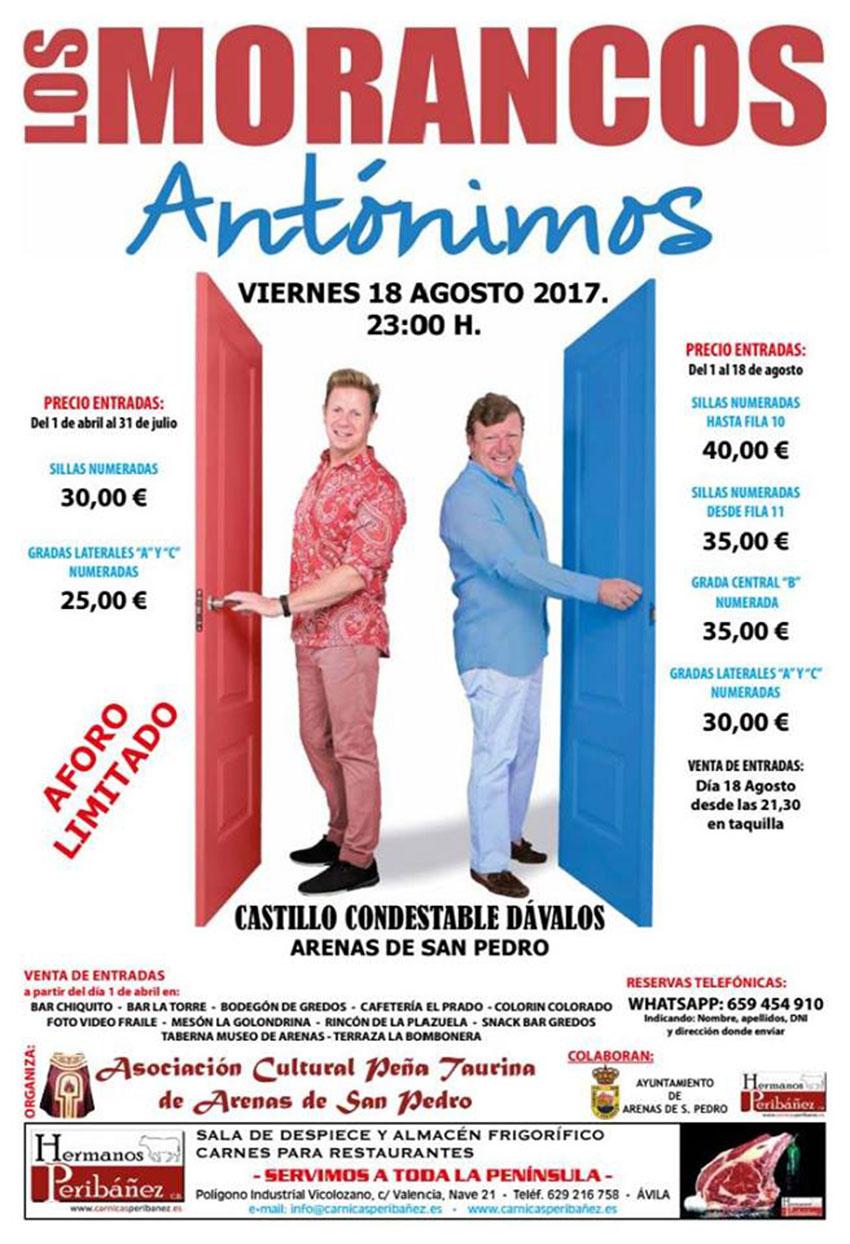 Los Morancos en Arenas de San Pedro - TiétarTeVe