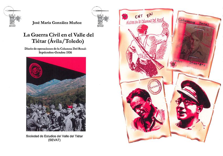 """Portada + contraportadaPresentación Libro """"Guerra Civil Valle del Tiétar"""" - TiétarTeVe"""