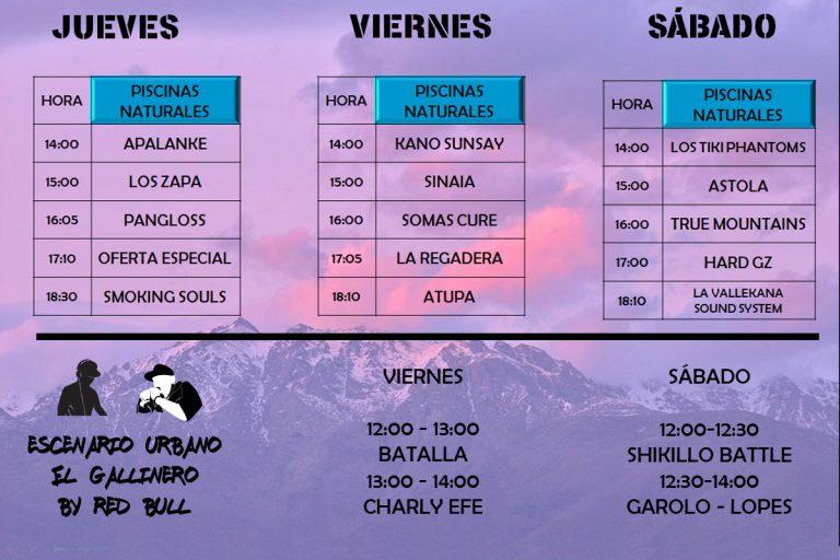 Shikillo Festival Horarios Piscinas - TiétarTeVe