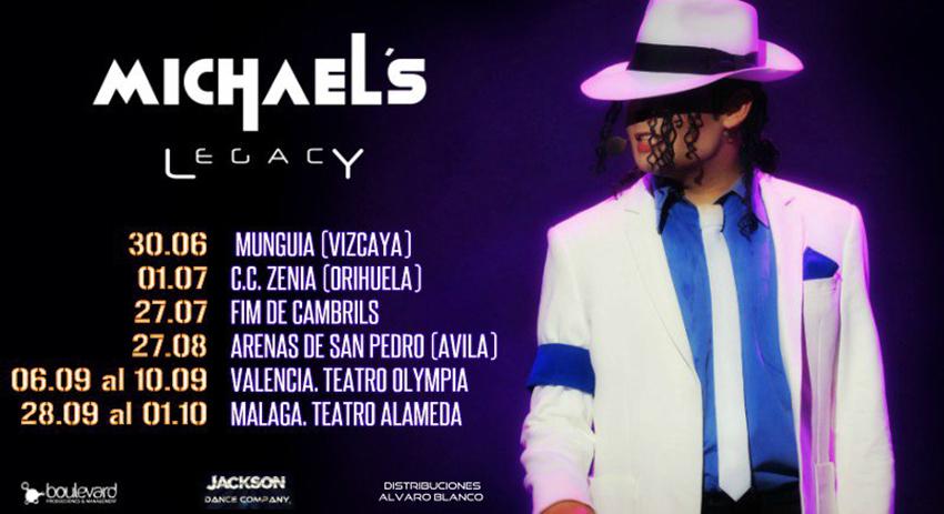 Tributo a Michael Jackson - Arenas de San Pedro - TiétarTeVe