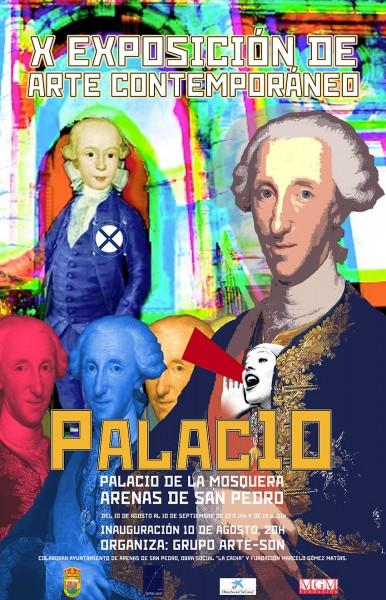 X Exposicion Arte Contemporaneo - Palacio de La Mosquera - Arenas de San Pedro - TiétarTeVe