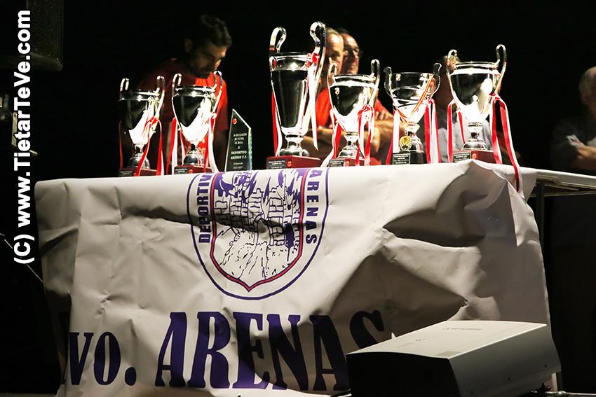 Copas obtenidas por el Deportivo Arenas C.F. en la temporada 2016/2017