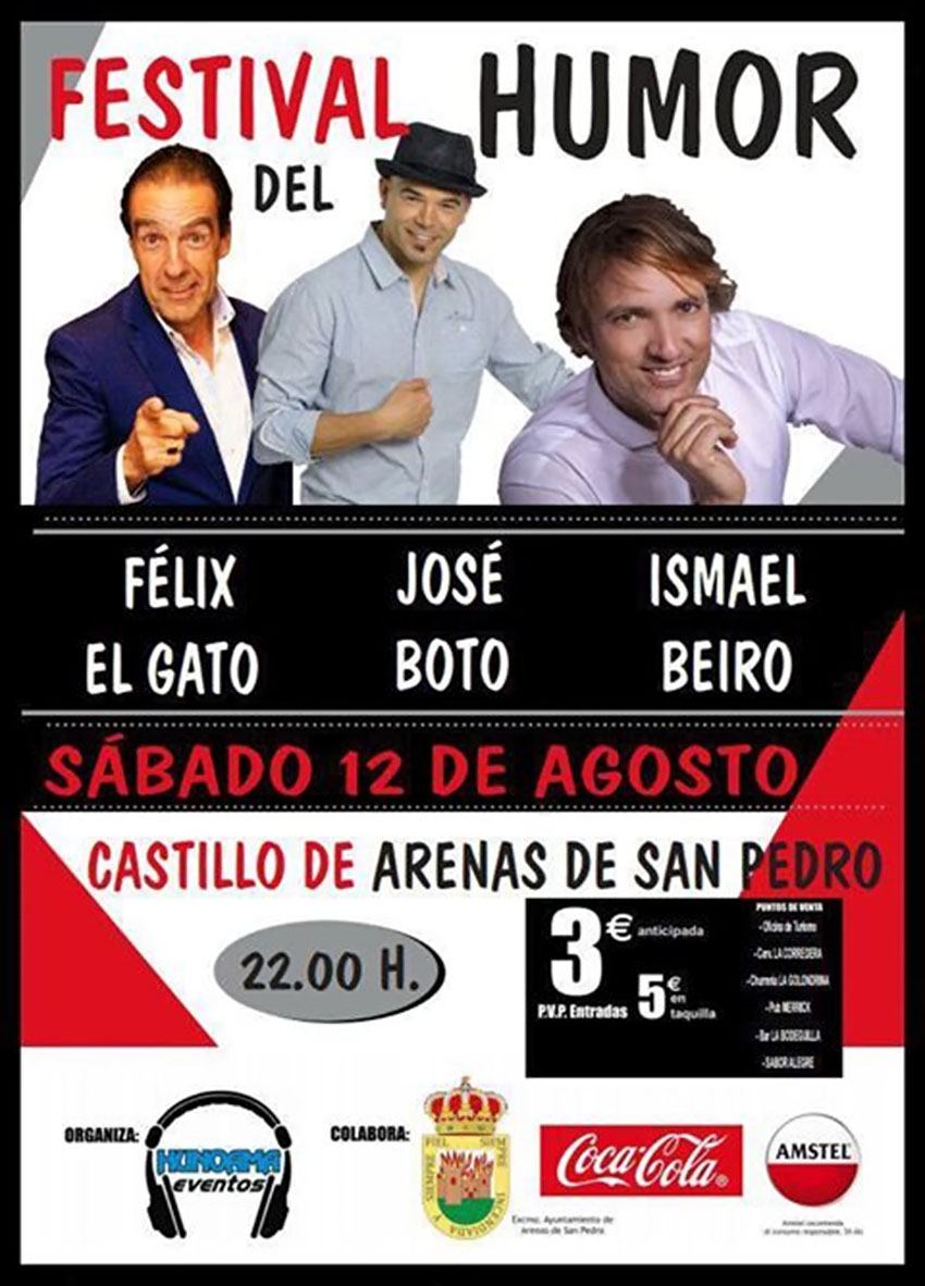 Festival del Humor en Arenas de San Pedro - TiétarTeVe