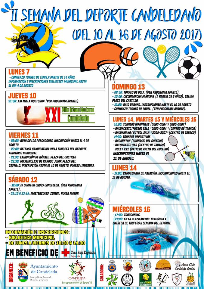 II Semana Deporte Candeleda - TiétarTeVe