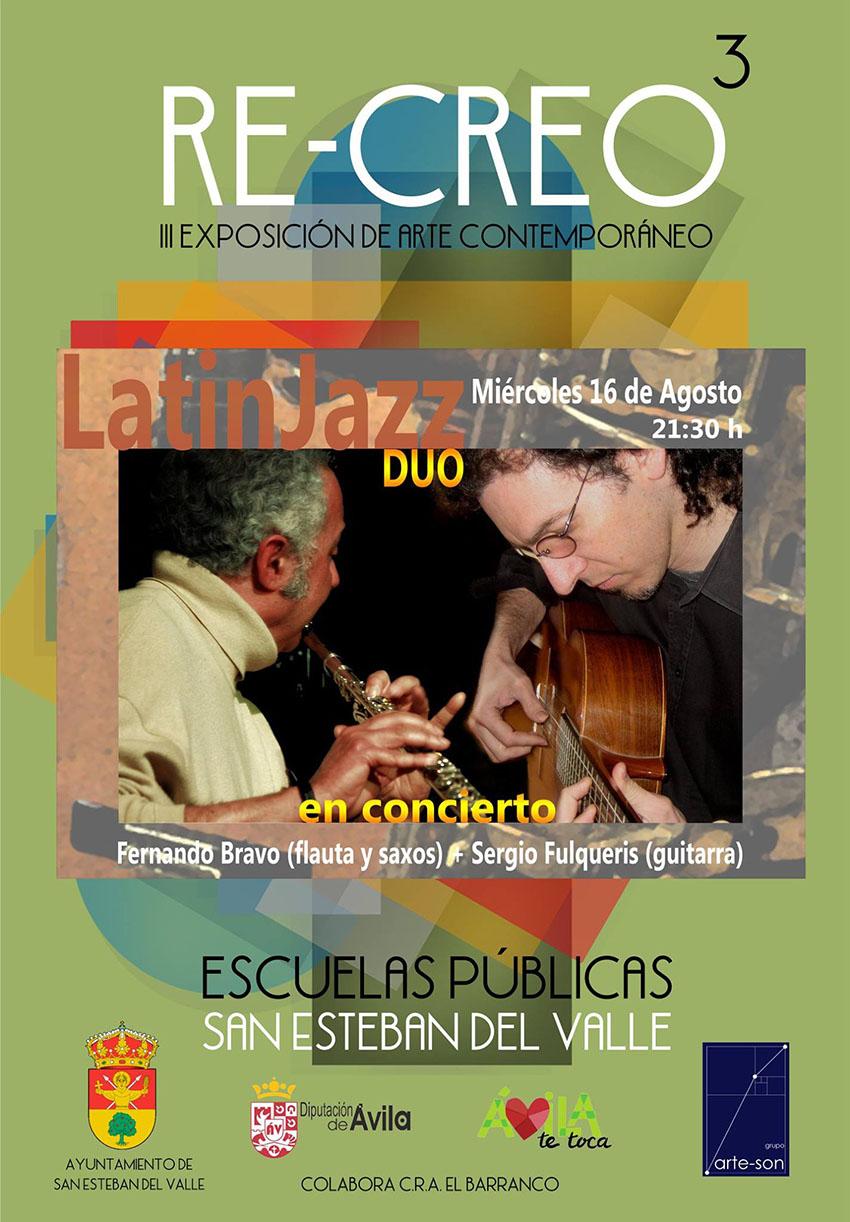 Concierto de Sergio Fulqueris en Re-Creo - San Esteban del Valle - TiétarTeVe