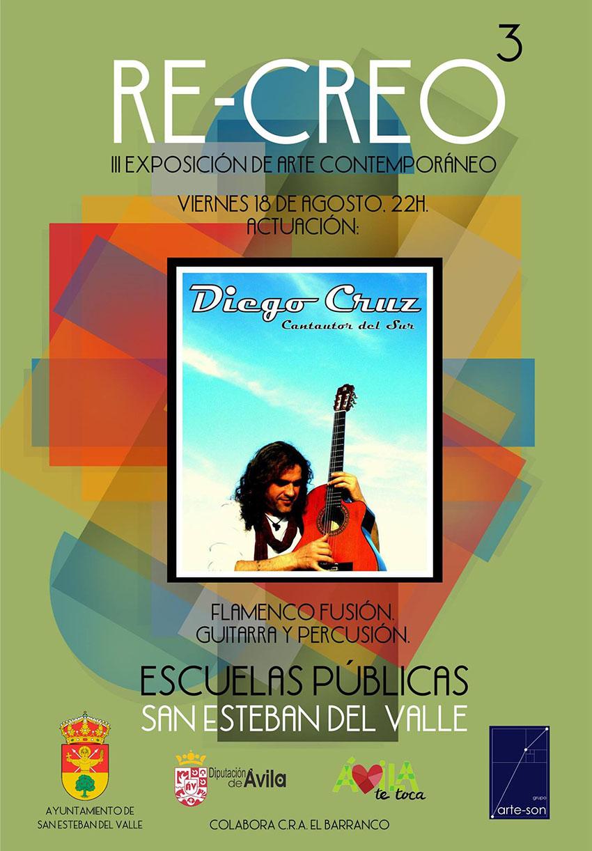 Concierto de Diego Cruz en Re-Creo - San Esteban del Valle - TiétarTeVe