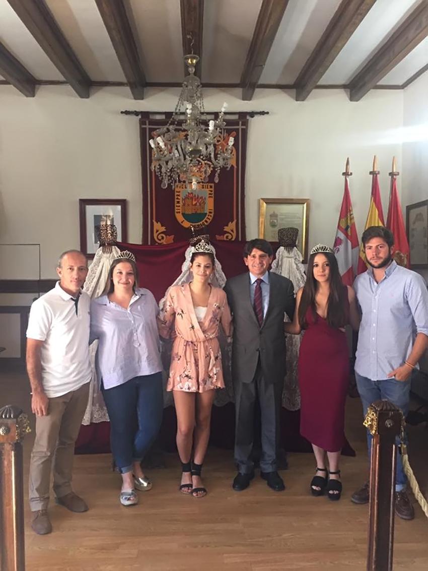 Reina y Damas Fiestas 2017 en Arenas de San Pedro - TiétarTeVe