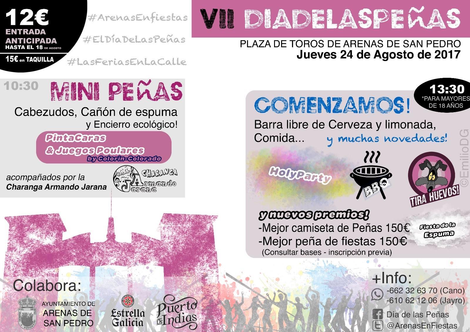 VII Dia de las Peñas - Arenas de San Pedro - TiétarTeVe