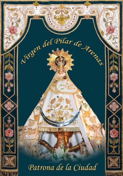 Virgen del Pilar de Arenas de San Pedro - TiétarTeVe